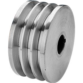 "Triple V-Groove Pulley - 3-1/2"" Dia., 7/8"" Bore"