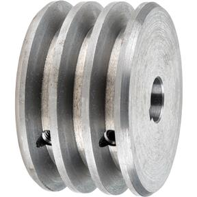 "Triple V-Groove Pulley - 3"" Dia., 17mm Bore"