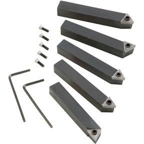 """5 pc. Indexable Carbide Tool Bit Set - 3/8"""""""