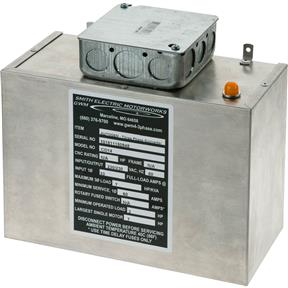 Static Phase Converter - 3 to 7 HP