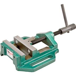 "Drill Press Vise - 4"" with Quick Turning Knurled Handle"