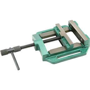 "Drill Press Vise - 6"" with Quick Turning Knurled Handle"