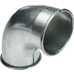 """4"""" 90 Deg Industrial Dust Collection Elbow"""