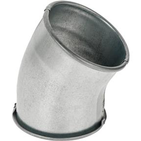 """4"""" 30 Deg Industrial Dust Collection Elbow"""