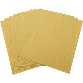 "9"" x 11"" A/O Sanding Sheets 80 Grit A Paper, 10 pk."