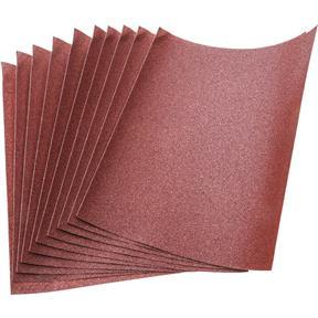 "9"" x 11"" A/O Sanding Sheets, 100 Grit A Paper, 10 pk."