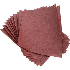 "9"" x 11"" A/O Sanding Sheets, 120 Grit A Paper, 10 pk."