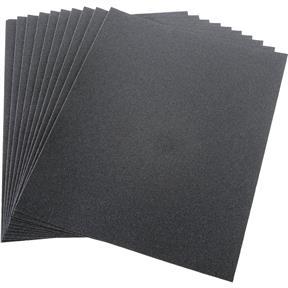 """9"""" x 11"""" S/C Sanding Sheet 120 Grit Wet/Dry, 10 pk."""