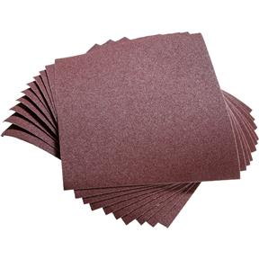 "9"" x 11"" A/O Sanding Sheets 80 Grit J Cloth, 10 pk."