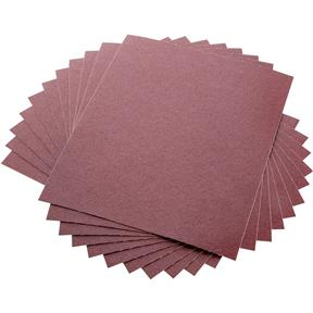 "9"" x 11"" A/O Sanding Sheets 100 Grit J Cloth, 10 pk."