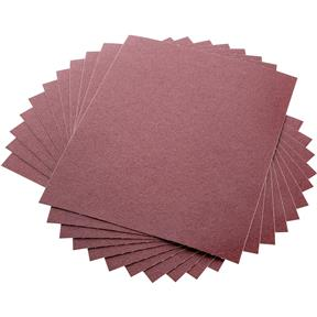 "9"" x 11"" A/O Sanding Sheets 120 Grit J Cloth, 10 pk."