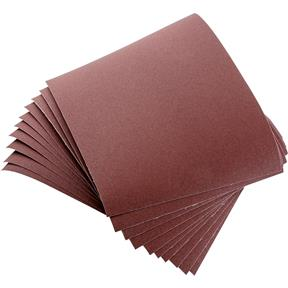 "9"" x 11"" A/O Sanding Sheets 150 Grit J Cloth, 10 pk."