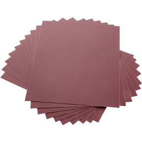 "9"" x 11"" A/O Sanding Sheets 180 Grit J Cloth, 10 pk."