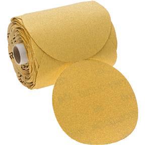 "5"" A/O Sanding Disc, 80-C Grit PSA, 100 Roll"