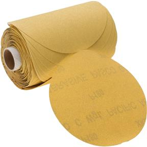 "5"" A/O Sanding Disc, 180-C Grit PSA, 100 Roll"