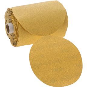 "6"" A/O Sanding Disc, 80-C Grit PSA, 100 Roll"
