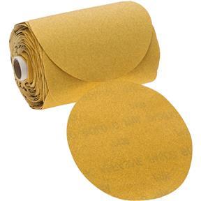 "6"" A/O Sanding Disc, 100-C Grit PSA, 100 Roll"
