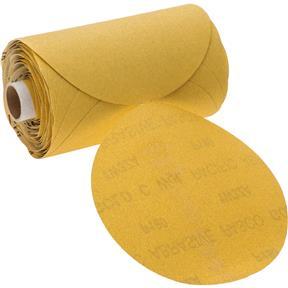 "6"" A/O Sanding Disc, 180-C Grit PSA, 100 Roll"