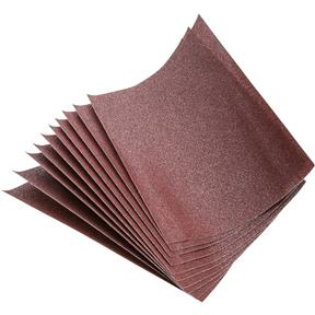 "9"" x 11"" A/O Sanding Sheet 80 Grit Heavy Paper, 10 pk."