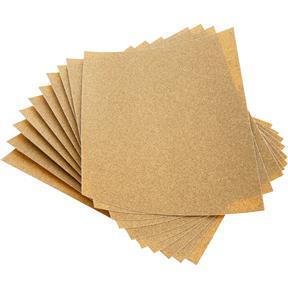 "9"" x 11"" A/O Sanding Sheet 100 Grit Heavy Paper, 10 pk."