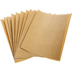 "9"" x 11"" A/O Sanding Sheet 150 Grit Heavy Paper, 10 pk."