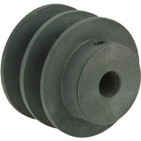 """Double V-Groove Pulley - 2"""" Pitch Dia., 1/2"""" Bore"""