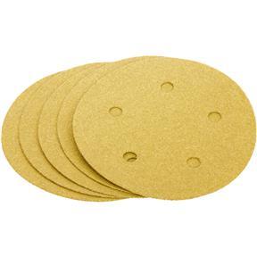 "5"" A/O Sanding Disc, 100-C Grit H&L 5 Hole, 5 pk."