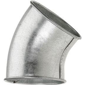 """6"""" 45 Deg Industrial Dust Collection Elbow"""
