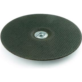 "A/O 9"" x 1/8"" x 5/8"" Grinding Wheel, Type 27, 24 Grit"