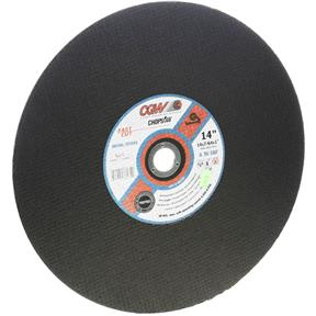 "A/O Cut-Off Wheel Type 1, 14"" x 7/64"" x 1"", 36 Grit"