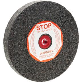 "A/O 6"" x 3/4"" x 1"" Grinding Wheel, Type 1, 24 Grit"