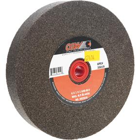 "A/O 6"" x 1"" x 1"" Grinding Wheel, Type 1, 46 Grit"