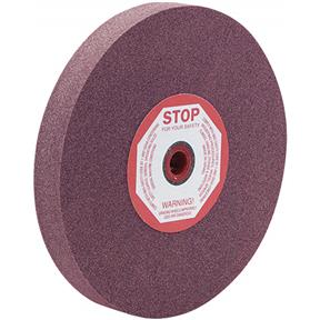 "A/O 8"" x 1"" x 1/2""-1-1/4"" Grinding Wheel, Type 1, 24 Grit"