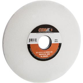 """A/O 8"""" x 1/2"""" x 1-1/4"""" Grinding Wheel, Friable, Type 1, 46 Grit"""
