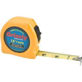 """16' x 3/4"""" Tape Measure (Yellow Color)"""