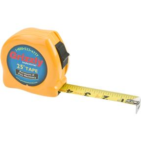 """25' x 1"""" Tape Measure (Yellow Color)"""