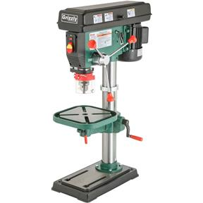 12 Speed Heavy-Duty Bench-Top Drill Press