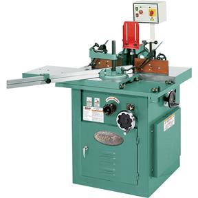 5 HP Sliding Table Shaper with Tilting Spindle