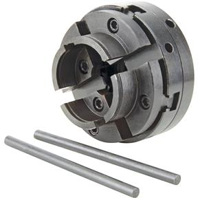 """4-Jaw Chuck For Round Pieces - 1-1/2"""" x 8 TPI"""