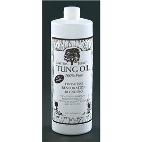 Tung Oil, 100% Pure, 1 qt.