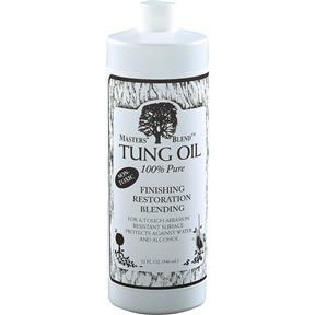 Tung Oil, 100% Pure - Quart