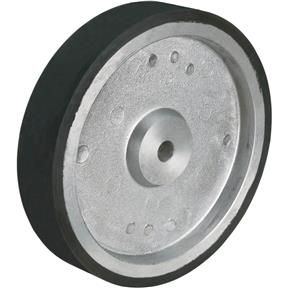 "10"" Aluminum /Rubber Wheel For G1015"