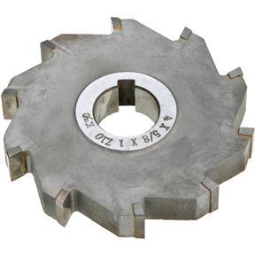 "Carbide Tip Side Mill Cutter 4"" x 5/8"" x 1"" B - 10T"