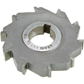 "Carbide Tip Side Mill Cutter 4"" x 5/8"" x 1-1/4"" B - 10T"