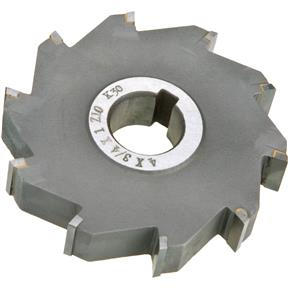 "Carbide Tip Side Mill Cutter 4"" x 3/4"" x 1"" B - 10T"