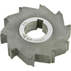 "Carbide Tip Side Mill Cutter 4"" x 3/4"" x 1-1/4"" B - 10T"