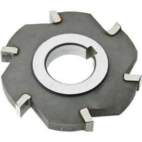 "Carbide Tip Side Mill Cutter, 3"" x 3/8"" x 1"" B - 6T"