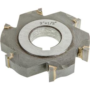 "Carbide Tip Side Mill Cutter, 3"" x 1/2"" x 1"" B - 6T"