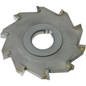 "Carbide Tip Side Mill Cutter, 4"" x 5/16"" x 1"" B - 8T"