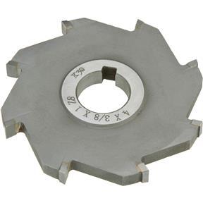 "Carbide Tip Side Mill Cutter, 4"" x 3/8"" x 1"" B - 8T"